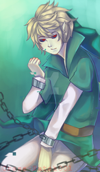 |Ben Drowned| Chains in the water by Cross-Hatch001