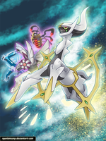 Arceus -Envoy from the beginning by nganlamsong