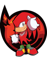 Sonic Heroes Collab - Knuckles (Mania Style) Entry by Decision-To-Protect