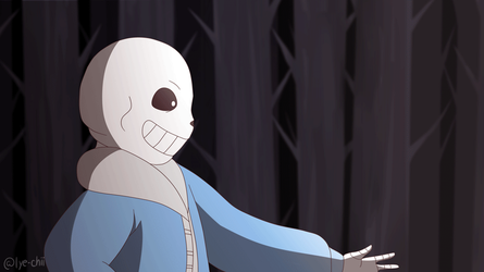 Sans Handshake Animation by Lye-chii