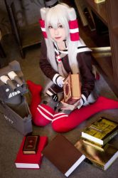 Amatsukaze - Kantai Collection by Ying-Juan