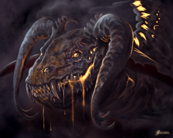 Aunts-Dragon by Davesrightmind