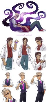 Welcome to Night Vale sketches by maXKennedy