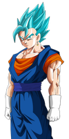 vegetto ssj blue by naironkr