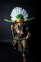Witch Doctor - KultCon'13 Frontal by Sizvahstar