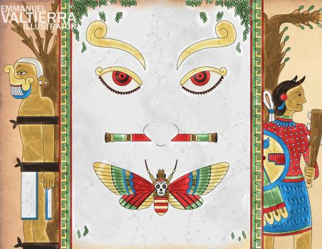 Silence of the Lambs - Aztec Version by labalaenlabiblia