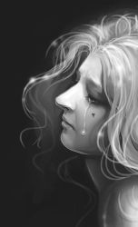 Why do you cry wonderful Lady? by CurlyJul