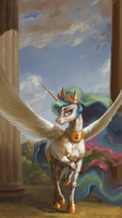 Celestia (fragment) by Bra1nEater