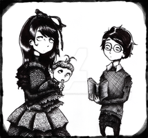 The Baudelaires by ElectronicRediscover
