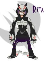 Another RWBY OC Rita Wildnauer by LongSean22