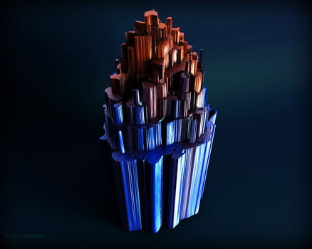 The Crystal by 3Dapple