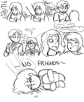 Friends Being Friends (BNHA OC's) by NuttyandProud03