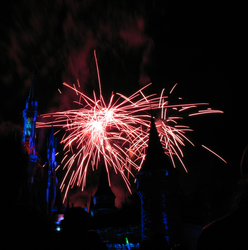 Castle Fireworks Show IMG 1130 by TheStockWarehouse