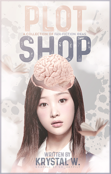 Book Cover 042 - Plot Shop by sohappilyart