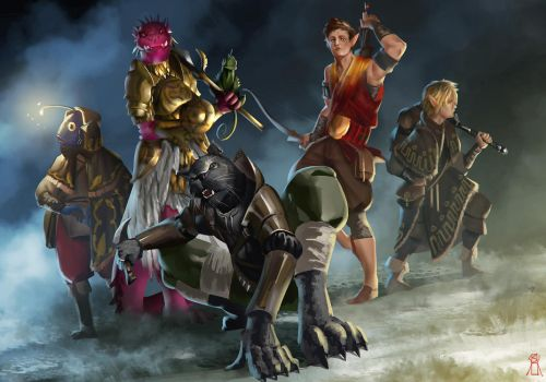 DnD party by soSiiCK