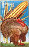 King-Size Corn, or Tiny Turkey? by Yesterdays-Paper