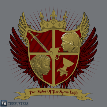 'Merlin Coat of Arms' by Merly24 by Teebusters