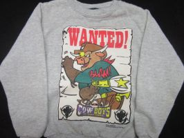 Vintage ''Cowboys Of Moo Mesa'' Sweatshirt by CCB-18