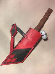 Commissioned Harley Quinn Knife Sheath by PracticalApplication