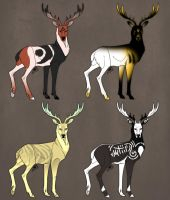 Stag Adopts #5 (3\4 OPEN) by SarcasmBasement