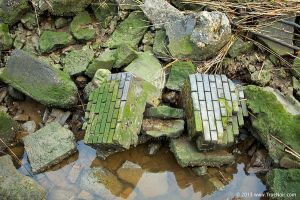 Grungy stone and debris stock image 002 by NoirArt