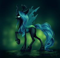 Queen Chrysalis by entadeath
