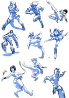 pose doodles by flavianos