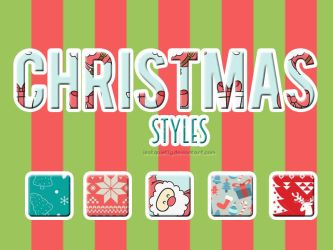 Christmas Styles by ISatQuietly