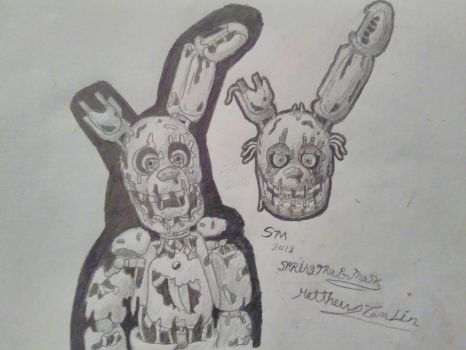 work drawings by SpringtraP-MasK