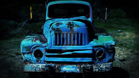 Old Lomography Truck by concettasdesigns