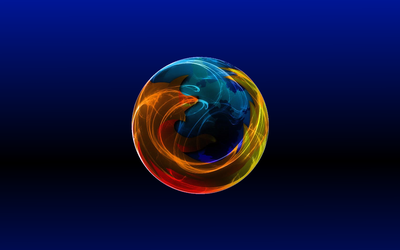 Firefox blue and black by dafmat71