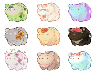 [OPEN 1/9] Bear cubs adopts by miloudee