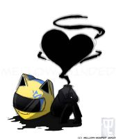 DRRR-Chibi Celty 2 by mell0w-m1nded