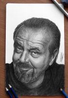 Jack Nicholson by AtomiccircuS