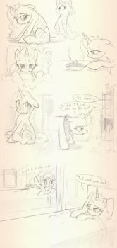 Hospital experience Sketches by sherwoodwhisper