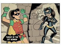 The Threat Of Catwoman by BillWalko