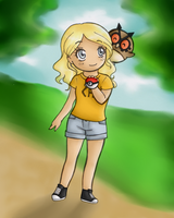 Annabeth and Hoothoot