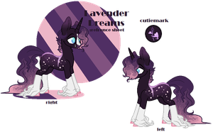 Lavender Dreams reference sheet by Pepsi-Dreaming
