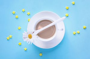 spring coffee by lindahabiba
