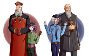Judges and Bailiffs by StarkyDerpy