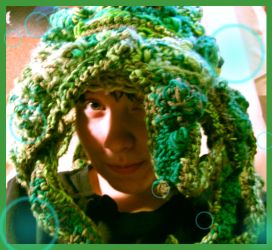 Octopus Hat by InkyDinkyWho