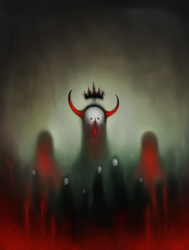 King of Ashes and Drowned Voices by IaAzathoth