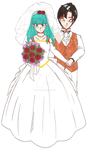 Happy Birthday Wedding by Iki-Fujisaka