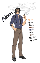Adrien Refs by The-Poison-Study