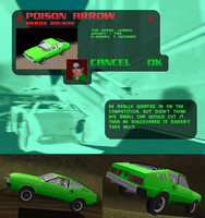 Poison Arrow - Carmageddon 2 by SHOTGUN12