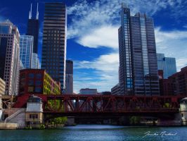 On the river - Chicago by jrdnG