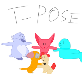 T-Pose Virus by TheAwesomestPikachu