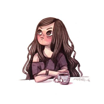 Tea Girl by Iraville