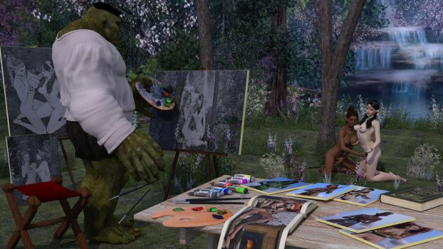 Mini-Adventures: Rogue and Barbarian 02-06 by Snapshotz3D