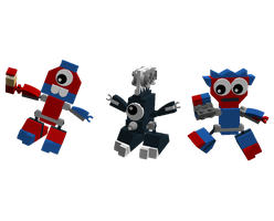 LDD Mixels: Movie-tion Models by Luqmandeviantart2000